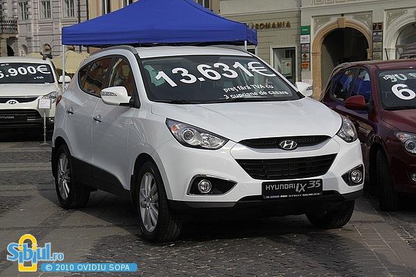 """Hyundai iX 35 la Salonul Auto \""""Masinaria 2010\"""""""