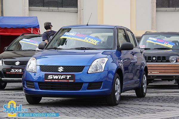 """Suzuki Swift la Salonul Auto \""""Masinaria 2010\"""""""