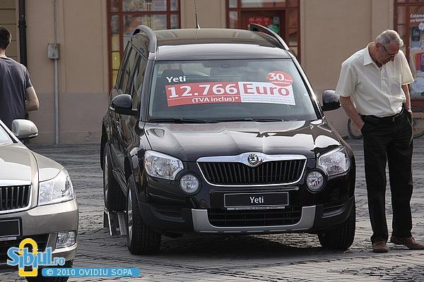 """Skoda Yeti la Salonul Auto \""""Masinaria 2010\"""""""