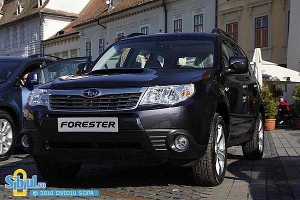 Salonul Auto Masinaria 2010 - Subaru Forester