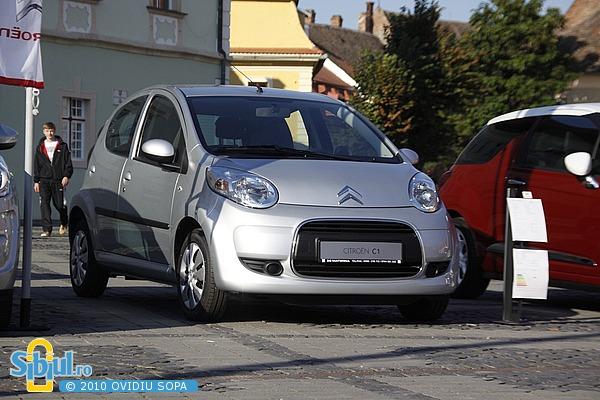 Salonul Auto Masinaria 2010 - Citroen C1