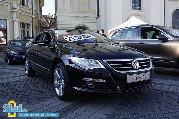 Salonul Auto Masinaria 2010 - VW Passat CC