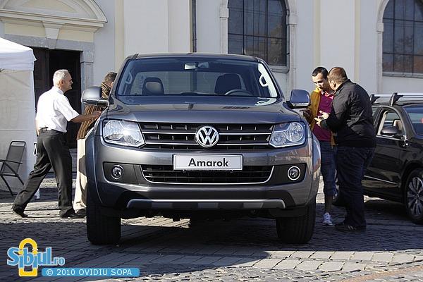 Salonul Auto Masinaria 2010 - VW Amarok