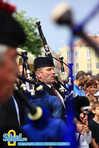 Scottish Pipe Band Reading - FITS 2013