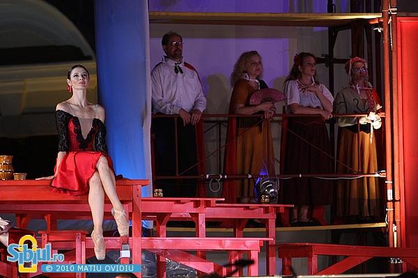 """Spectacolul \""""Carmen\"""" dupa Georges Bizet"""