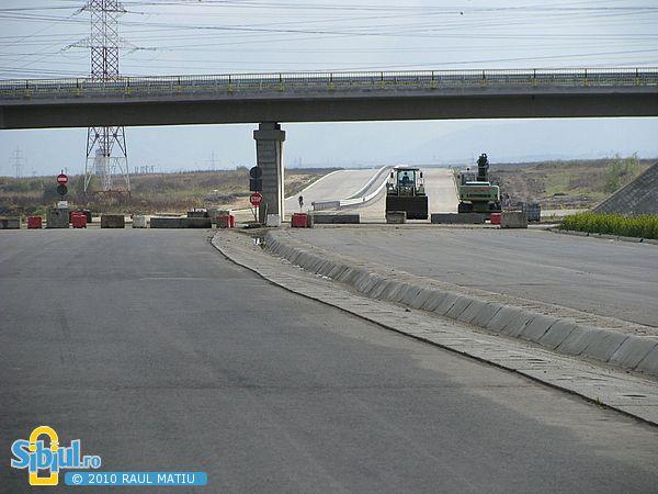 Viaduct peste Centura Sibiului - DJ Sibiu - Agnita - 17.10.2010