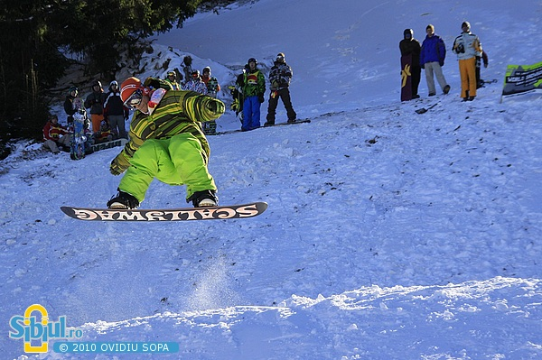 World Snowboard Day 2010 / Arena Platos Paltinis