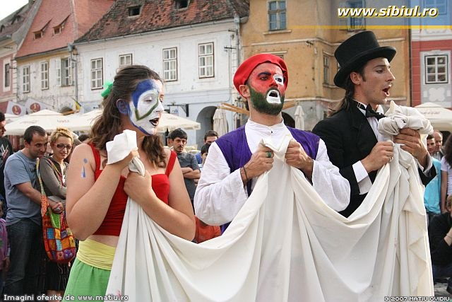 Festivalul de Teatru Sibiu 2007