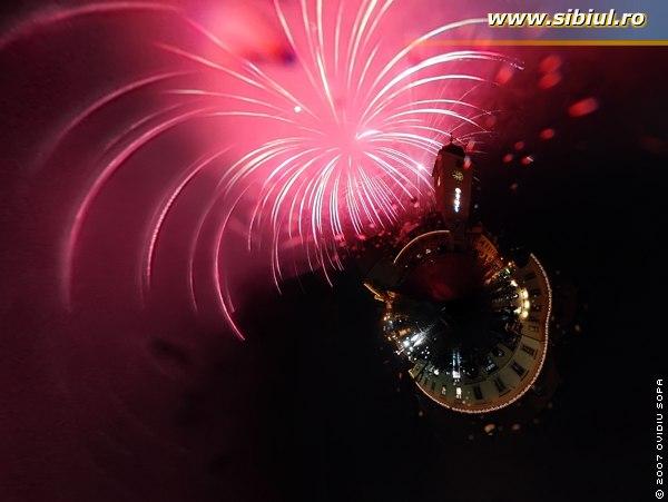 Artificii Sibiu 2007
