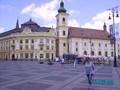 Primaria si catedrala din Piata Mare a Sibiului