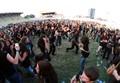 Spectatori la Rockin Transilvania