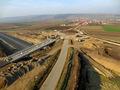 Autostrada A1 Orastie - Sibiu / Nod rutier Cunta / KM 43 / Noiembrie 2013