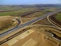 Autostrada A1 Orastie - Sibiu / Nod rutier Saliste / KM 66 / Noiembrie 2013