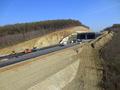 Autostrada A1 Orastie - Sibiu / Viaduct Sacel / KM 71 / Noiembrie 2013