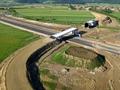 Autostrada A1 / Pasaj pe DC65 peste autostrada KM70