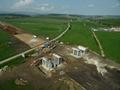 Autostrada A1 Orastie - Sibiu / Pasaj pe DJ143B spre Rusciori (Km 81) - Mai 2012