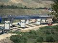 Autostrada A1 / Viaduct peste valea Sacel la Km 71+615 / August 2012