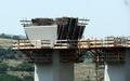 Viaduct peste vale si DC71 / Km 62 / August 2012