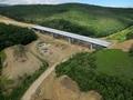 Autostrada A1 / Viaduct peste vale Sacel - Cristian / Km72