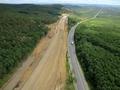 Autostrada A1 / Fotografie Aeriana in zona Sacel - Cristian / Km73