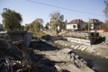 Noul pod peste Raul Cibin (6 noiembrie 2011)