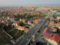 """Reabilitarea viaductului """"Gara Mica"""", DN14 spre Medias / Octombrie 2012"""