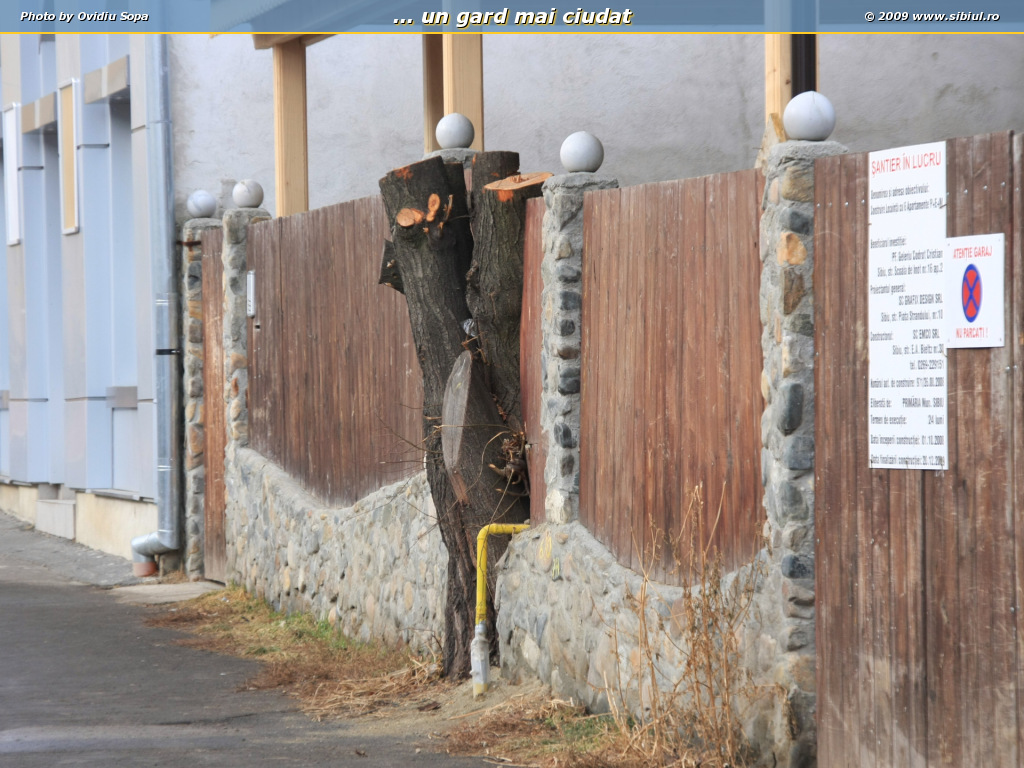... un gard mai ciudat