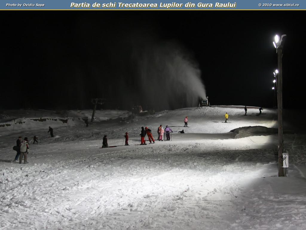 Partia de schi Trecatoarea Lupilor din Gura Raului