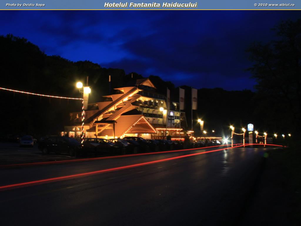 Hotelul Fantanita Haiducului