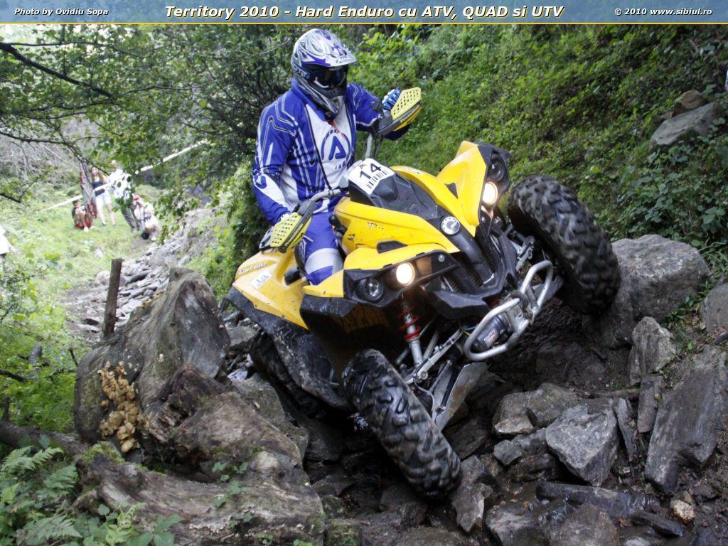 Territory 2010 - Hard Enduro cu ATV, QUAD si UTV