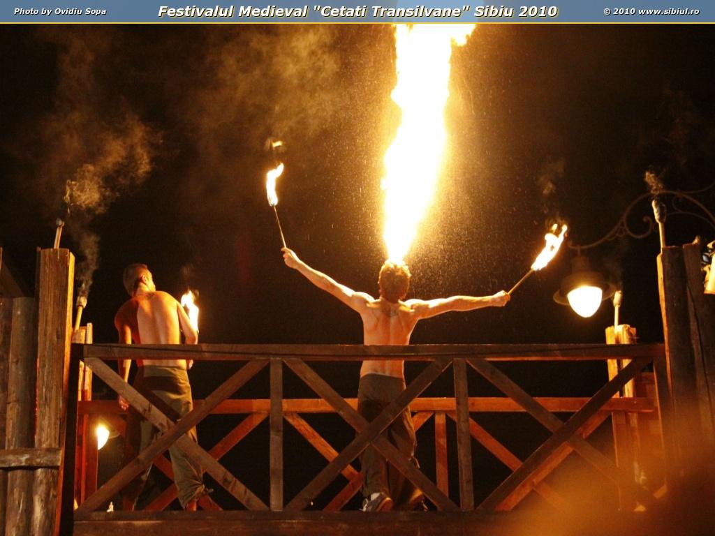 "Festivalul Medieval ""Cetati Transilvane"" Sibiu 2010"