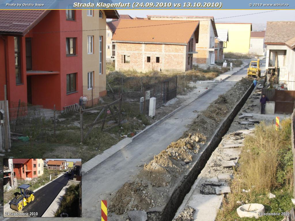Strada Klagenfurt (24.09.2010 vs 13.10.2010)