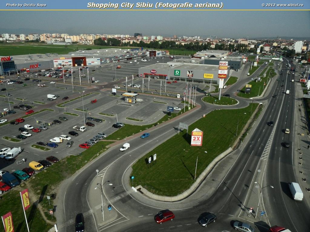 Shopping City Sibiu (Fotografie aeriana)