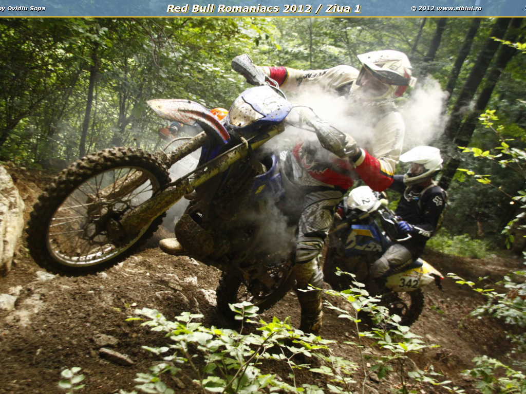 Red Bull Romaniacs 2012 / Ziua 1