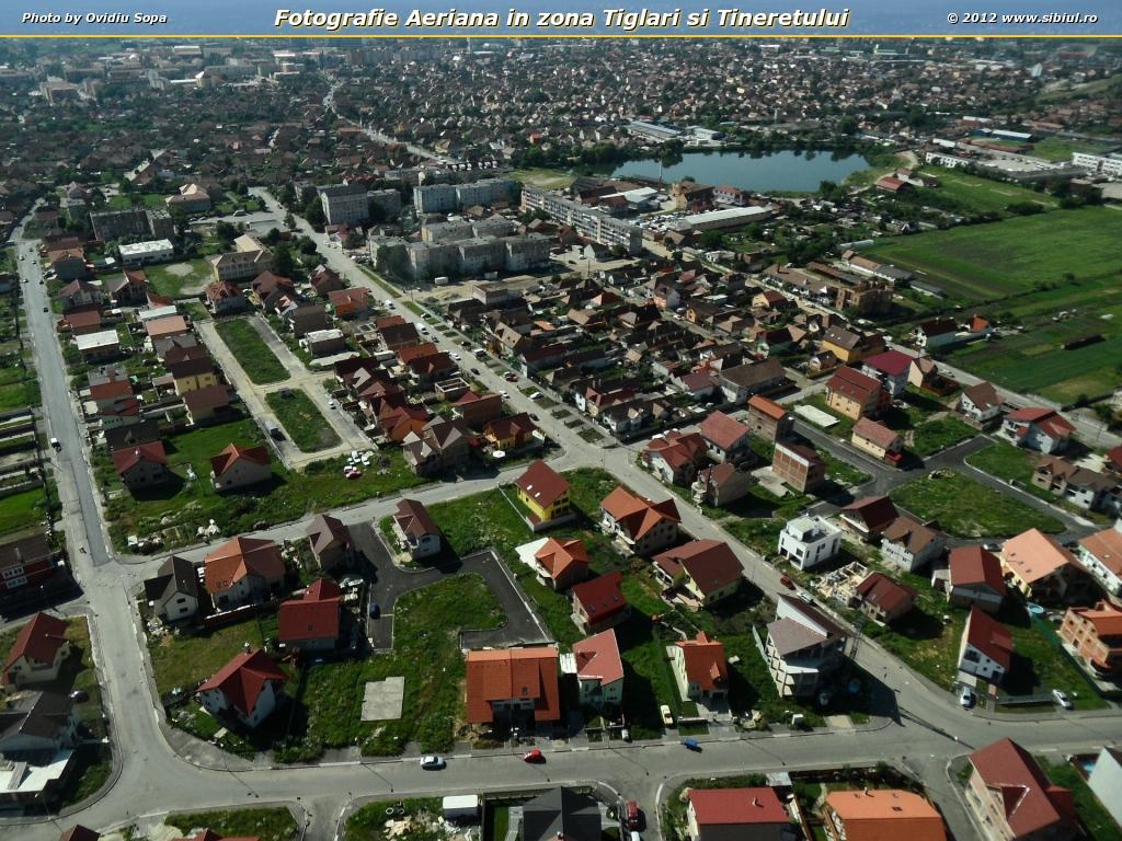 Fotografie Aeriana in zona Tiglari si Tineretului