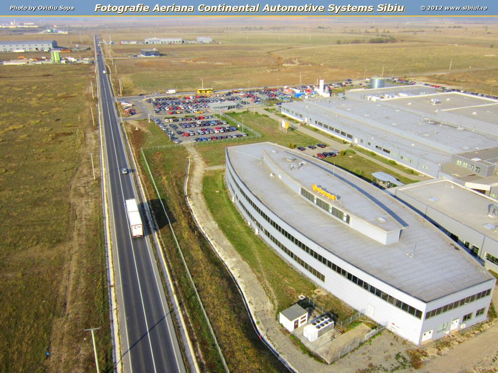 Fotografie Aeriana Continental Automotive Systems Sibiu