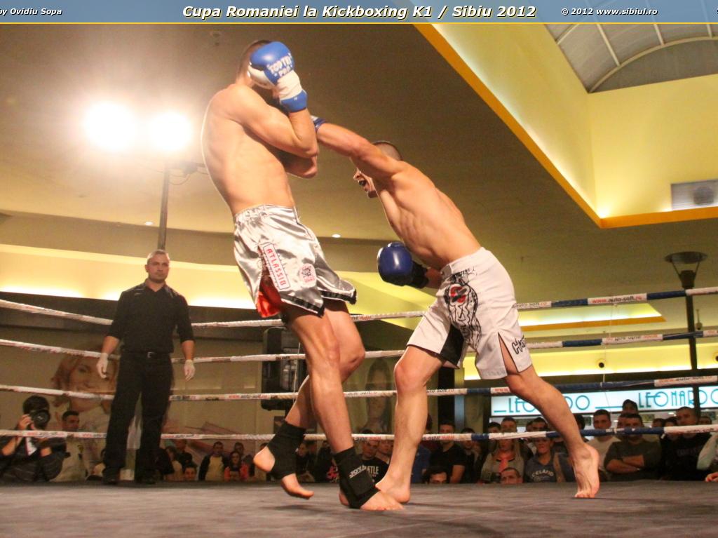 Cupa Romaniei la Kickboxing K1 / Sibiu 2012