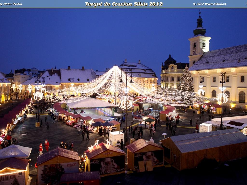 Targul de Craciun Sibiu 2012