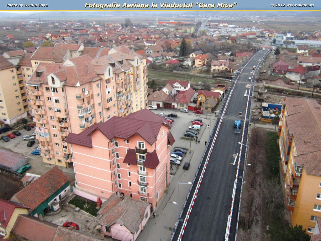 "Fotografie Aeriana la Viaductul ""Gara Mica"""