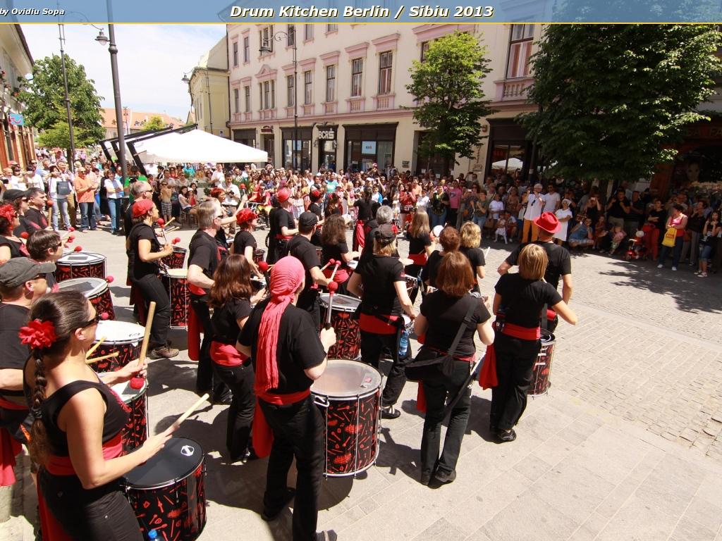 Drum Kitchen Berlin / Sibiu 2013