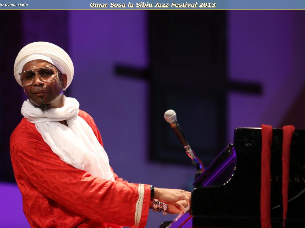 Omar Sosa la Sibiu Jazz Festival 2013