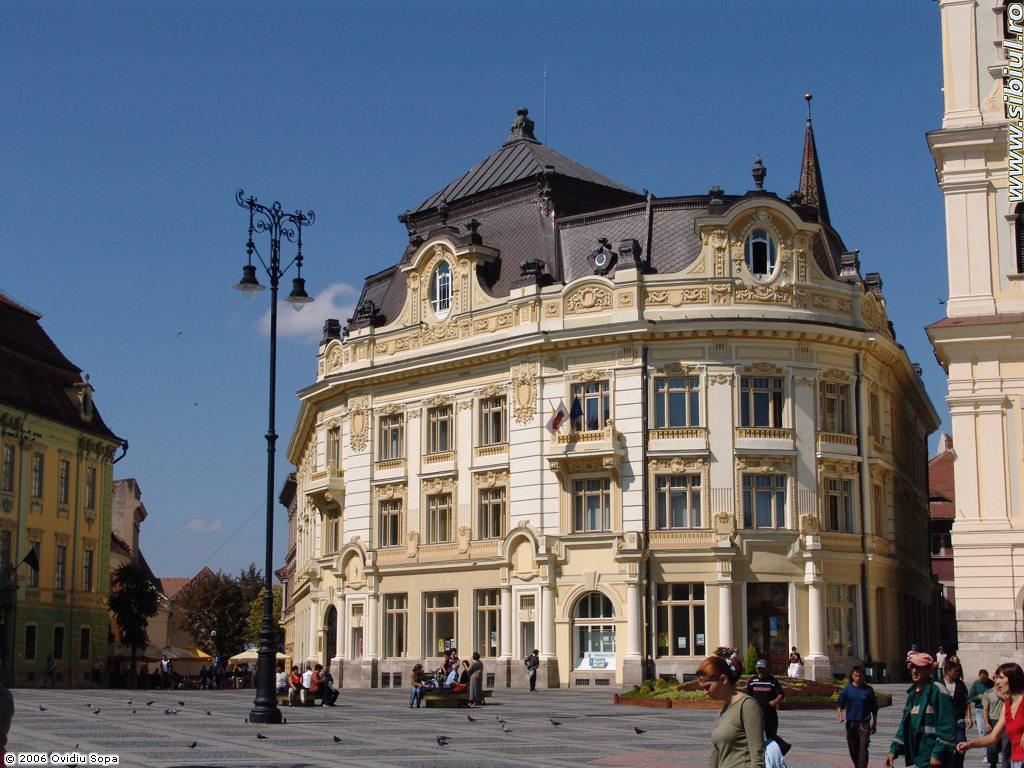 Cladirea Primariei Sibiu