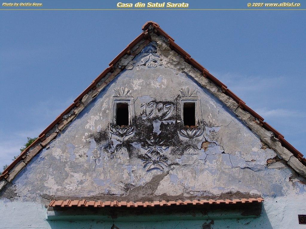 Casa veche din satul Sarata