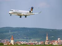 Poza Zilei Sibiu - Lufthansa landing in Sibiu (D-ACKG at SBZ)