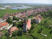 Poza Zilei Sibiu - Fotografie aeriana in Sura Mica