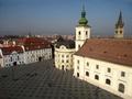 Piata Mare din Sibiu (fotografie aeriana)