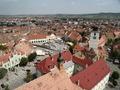 Piata Mica din Sibiu (fotografie aeriana)