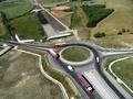 Giratoriu Centura Sibiului - DJ106B - Autostrada Orastie Sibiu