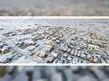 Fotografie aeriana: Cartierul Tineretului iarna