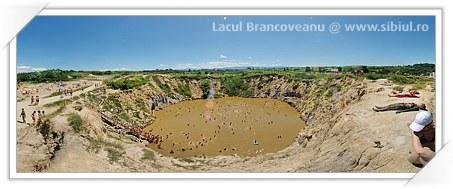Lacul Brancoveanu din Ocna Sibiului